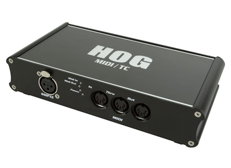 high end systems hog usb midi ltc timecode widget. Black Bedroom Furniture Sets. Home Design Ideas